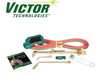 Victor Torch Kit Cutting Outfit CA1350 100FC, 4-MFA-1, 0-W-1, 0-3-101 Tip