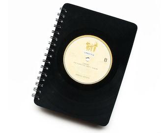 Vinyl Record Sketchbook | A5 | Music Notepad | Blank Jotter