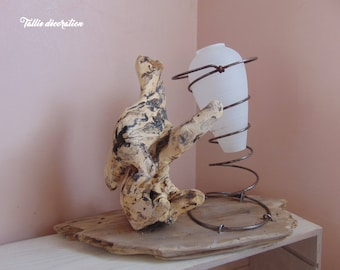 sculpture, driftwood, to ask