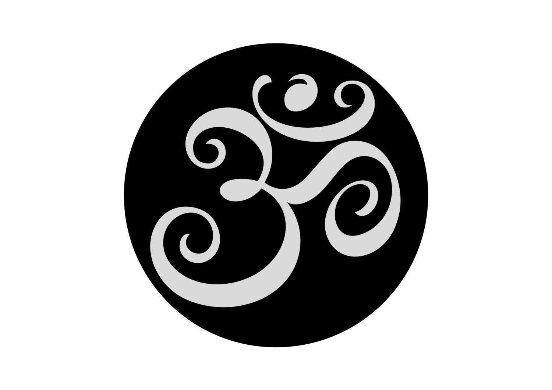 Aum om ohm yoga temporary tattoo set of 2 yoga gift zoom buycottarizona Image collections
