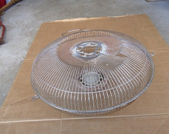 vintage electric fan parts,front/rear grill mesh cover,replacement repair parts,repurpose wire baskets