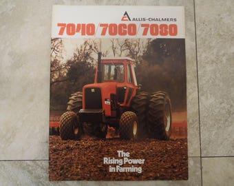 Allis- Chalmers 7000 Series Tractor Literature