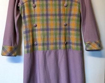 Original 1960's Wool Dress