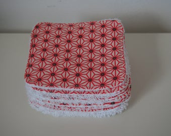 """Washable cotton """"Scandinavian spirit"""" and Terry cloth. Ultra-trendy toilet patterns."""
