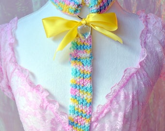 Rainbow cupcake harness