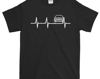 BMW 2002 Print Crazy BMW Shirt Perfect Birthday T Awesome Gift Tee BMW Love  Heartbeat Shirt