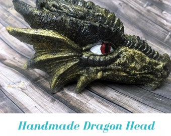 Resin Dragon Head decor