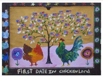 First Date In Chicken Land