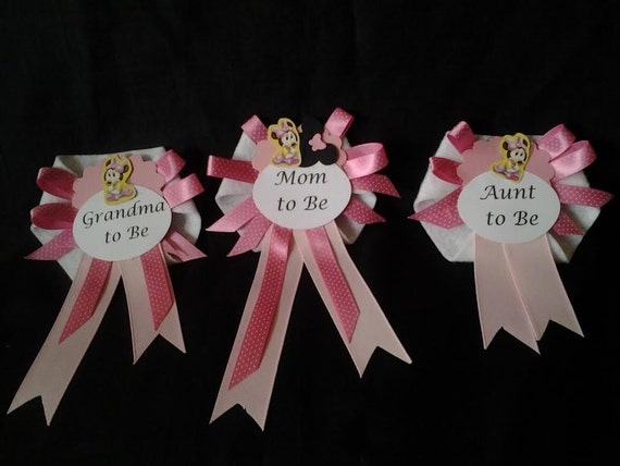 Baby Shower Corsage For Mom ~ Baby shower corsages mom to be grandma to be aunt to