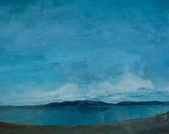 Art card print- Open Sky-   by Lauriann Wakefield  of Bear Lake