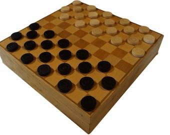 Checkerboard birch, beech and oak