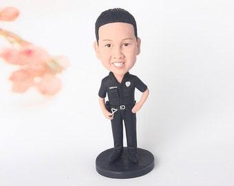 Custom Bobblehead - Police Officer, Husband gift, gift to husband, gifts to husband, Personalized Husband gift