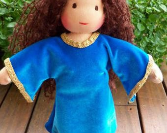 "TWO Waldorf Dolls Pattern 13-14"" and 16"" Child Doll: Instant Download (doll body only)"