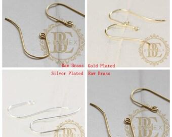 Brass Base / Earring Hooks / Earring Wire (C3833)