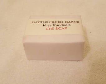 Lye Soap