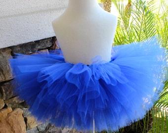 Royal Blue Tutu, Newborn Royal Blue Tutu, First Birthday Tutu, Birthday Outfit, Little Girl Tutu, Blue Tutu, Cake Smash Tutu
