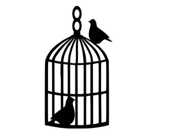 Birdcage template