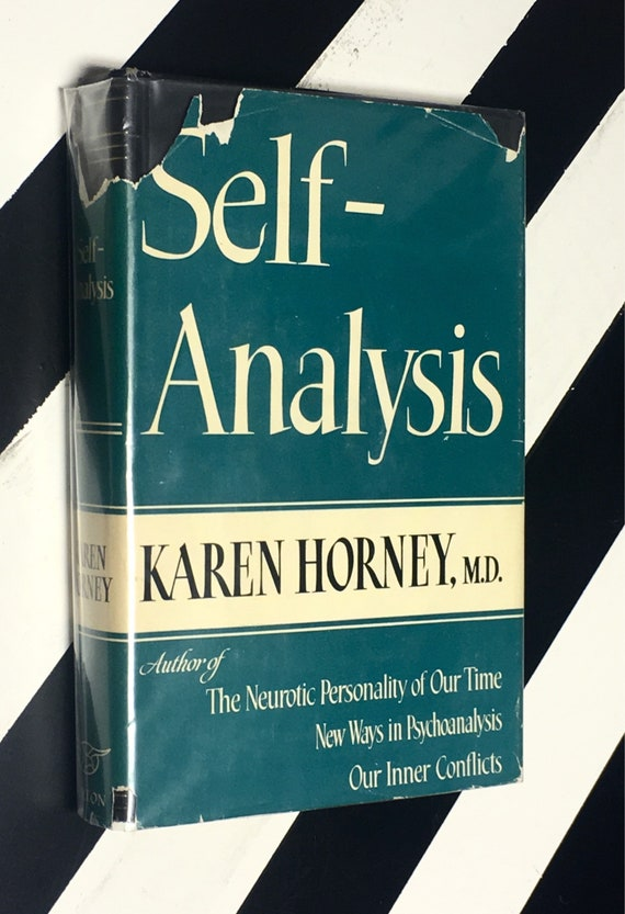Self-Analysis by Karen Horney, M.D. (1942) hardcover book