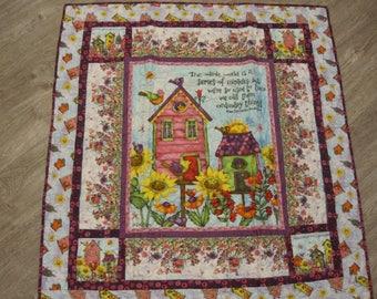 Happy Garden Quilt