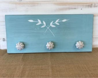 Nature Blue Coat Rack