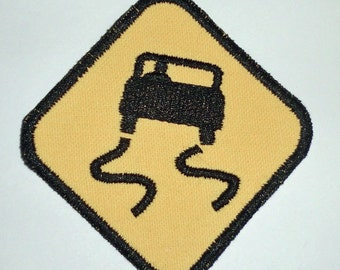 Iron-On Patch - SLIPPERY