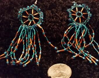 Dreamcatcher Earrings - Steel Hooks
