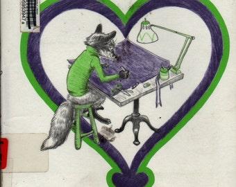 The Best Valentine in the World + Marjorie Weinman Sharmat + Lilian Obligado + 1982 + Vintage Kids Book