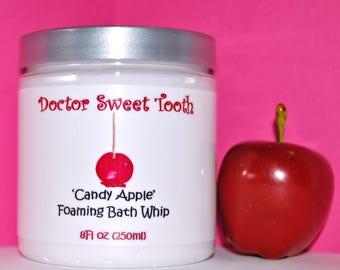 Candy Apple Foaming Bath Whip 8oz