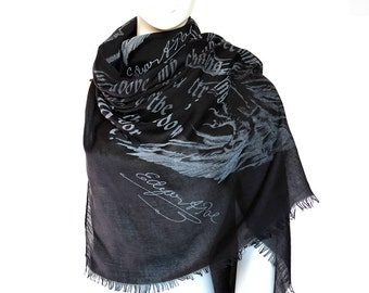 The Raven Book Scarf [Straight]