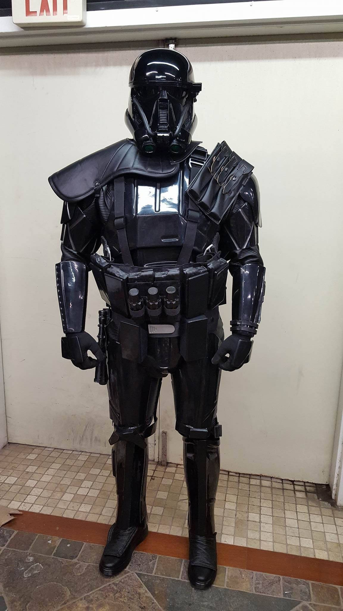 rogue one death trooper full costume armor 501st. Black Bedroom Furniture Sets. Home Design Ideas