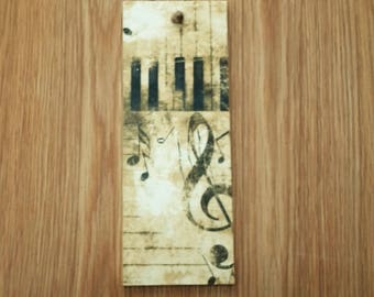 vintage Music plaque - music lover gift - music note decor