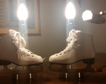 Ice Skate Lamps