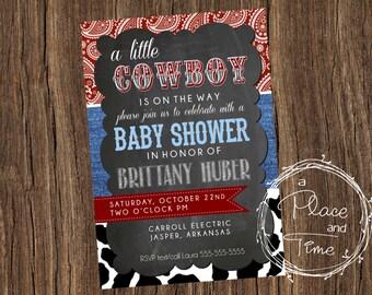 A Little Cowboy Baby Shower