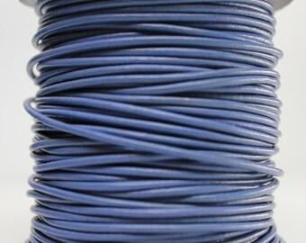 1 Meter of 2MM Light Violet Purple Leather Cord (1 yard) (1m)
