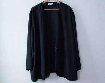 Light black jacket 80's