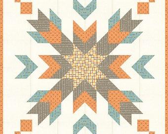 Quilt Pattern - Vibrations Quilt - Sandy Gervais - Moda Fabrics