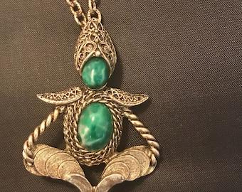 Vintage Act II Buddha Brooch/Necklace