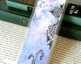 Succulent Hand Painted Bookmark, Handmade, Laminated