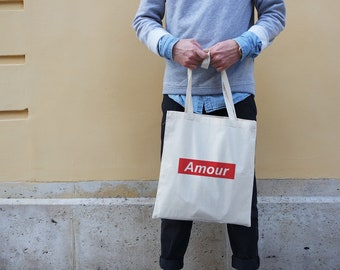 Tote bag - Amour