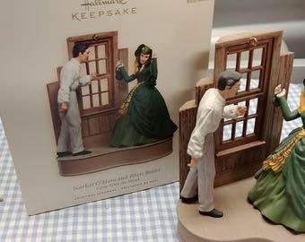 Gone With The Wind Hallmark Ornament Scarlett O'Hara and Rhett Butler