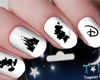 Disney nail art | Etsy