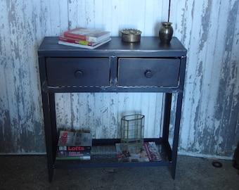 convenient raw metal industrial furniture