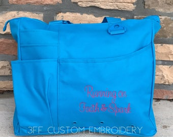 Personalized or Monogrammed Super Tote