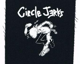Circle Jerks Punk Band Patch