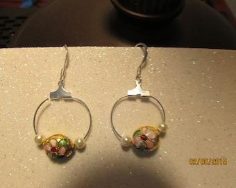 custom made  bead earrings