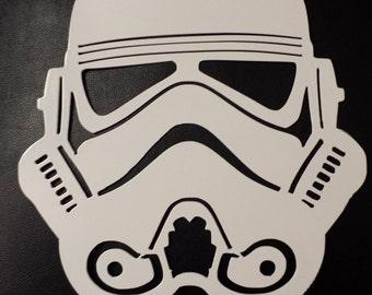Stormtrooper Metal Wall Art
