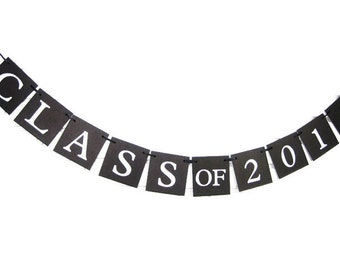 Class of 2018 banner, graduation party, graduation party banner, congratulations banner, class reunion sign, graduation party sign, congrats