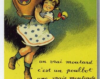 Le Moutard Parizot Vintage French Poster Print
