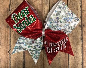 Christmas cheer bow