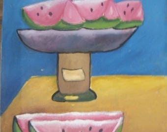 Canvas Painting Watermelon